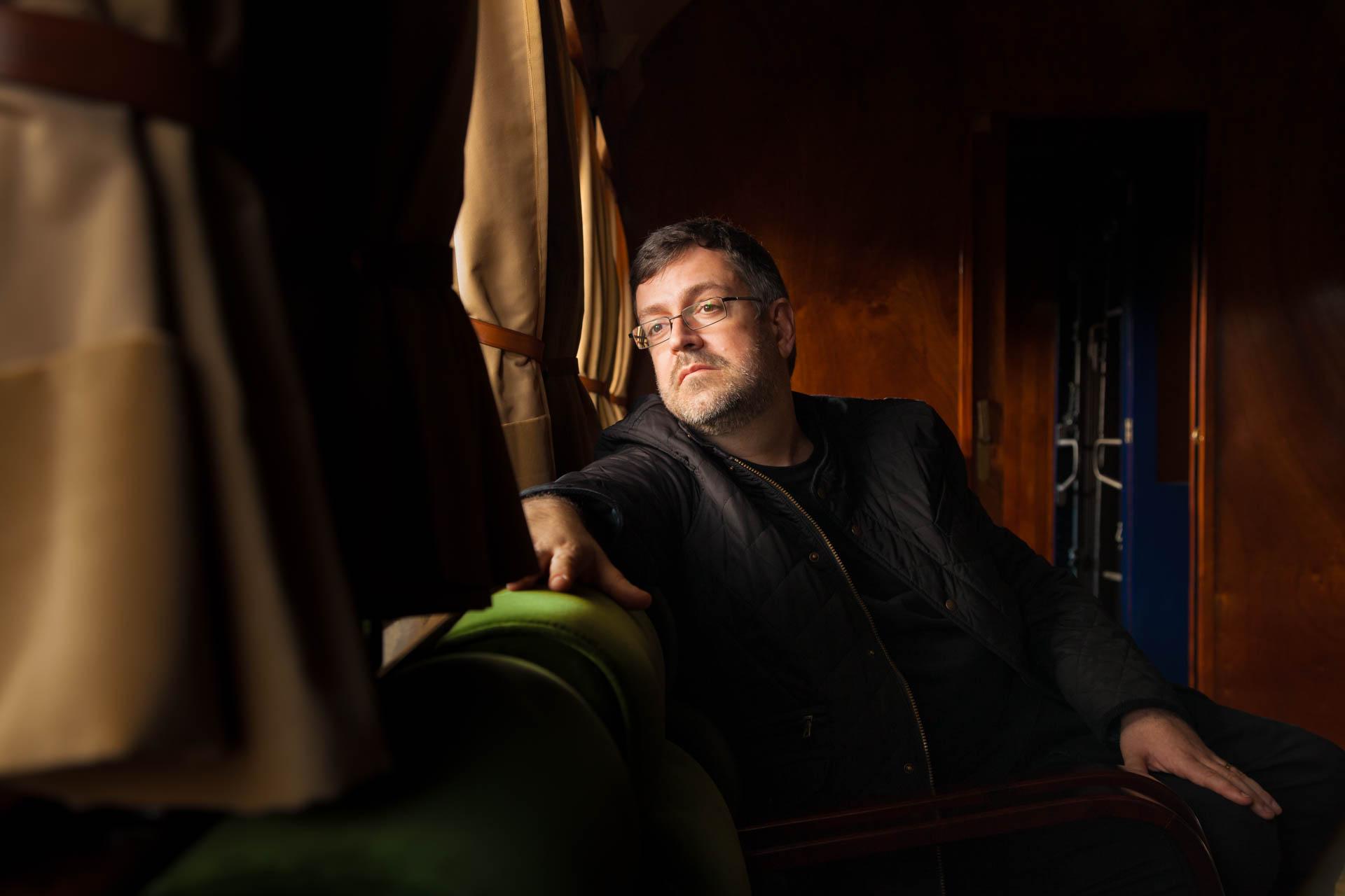 Artur PIzarro, pianista, para a editora Odradek